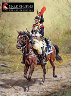 SOLDIERS- Churms: 9th Regiment Cuirassiers, 1809, by Mark Churms.