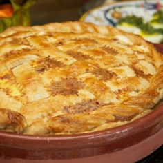 Pizza rustica (Easter Cheese and Salumi Pie)