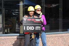 CENTURY 21 Leading Edge Realty agents Loraine Lee and Rohanie Singh participated in this year's Easter Seal Drop Zone Challenge raising a total of $3,000 and matched by Paul Baron, Broker of Record, for a total donation of $6,000! http://www.century21.ca/leadingedgerealty/Blog/Easter_Seals_Drop_Zone_Challenge_-_Toronto_2013