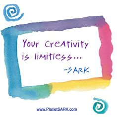 Your #creativity is #limitless...