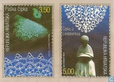 Postage Stamps - Croatia - Lace
