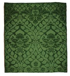 First half 16th century Italy Brocade  Perhaps designed for the Medici family or other family perhaps the Peri due to design of diamond ring and pears but may be a general image suitable for a marriage or engagement