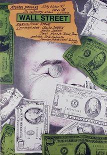Wall Street, Polish Movie Poster