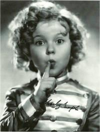 Shirley temple autograph picture | Shirley Temple Autograph Signed Poster