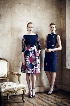 another great skirt and top combo from Erdem  Erdem Resort 2013 Photo 1