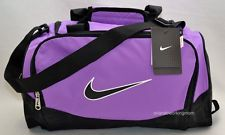 Nike Duffel Bag Purple Brasilia 5 X Small Gym Travel XS Duffle Women Girl bc0cad1a8f913