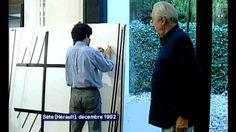 video - 20 ans Vitraux Soulages  http://culturebox.francetvinfo.fr/expositions/evenements/il-y-a-20-ans-soulages-creait-ses-vitraux-blancs-pour-labbatiale-de-conques-162681