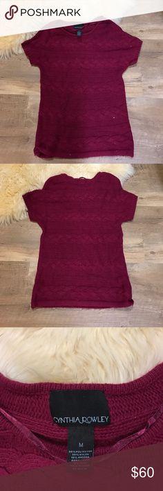 Cynthia Rowley Sweater Top Cynthia Rowley Sweater Top Cynthia Rowley Tops