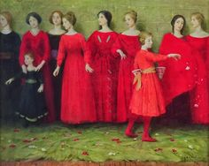 They Come - Thomas Cooper Gotch
