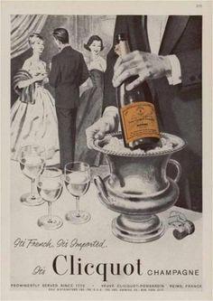 Veuve Cliquot ad (vintage)