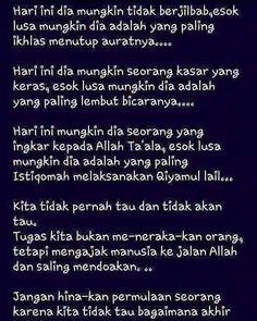Hargai proses hijrahnya... #indonesiabertauhid by indonesiatauhid