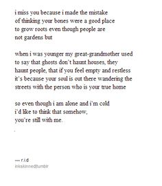 """inkskinned: """"I want to go home to the people I love."""""""