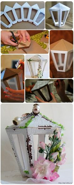 Trendy origami paper lantern decor ideas - Real Time - Diet, Exercise, Fitness, Finance You for Healthy articles ideas Craft Stick Crafts, Diy Crafts To Sell, Crafts For Kids, Paper Crafts, Ramadan Crafts, Ramadan Decorations, Christmas Decorations, Lanterns Decor, Paper Lanterns