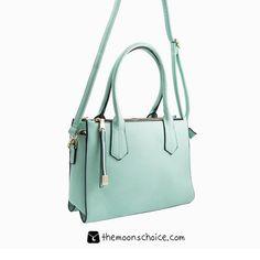 Bolso Aguamarina | Comprar bolsos online | Cartera mujer grande