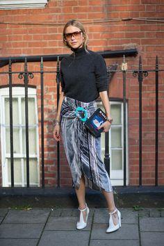 Best London Fashion Week Street Style Spring 2016 - London Street Style