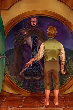 The Hobbit - Thorin Oakenshield x Bilbo Baggins - Thilbo Bagginshield by cassie