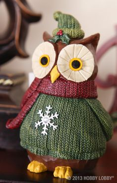 """Owl"" be home for Christmas...it'll be a hoot!"