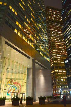 Midtown Manhattan tonight- Lexington Ave & 51st Street