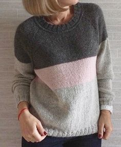 I have a clogged drain. I was going use a wire hanger.old school.I need salt - Salvabrani Knitwear Fashion, Knit Fashion, Sweater Fashion, Crochet Cardigan, Knit Crochet, Clothing Patterns, Knitting Patterns, Knitting Projects, Baby Knitting