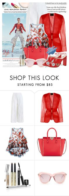 """""""Magic slippers: Embellished shoes"""" by jan31 ❤ liked on Polyvore featuring Chanel, Zimmermann, Philosophy di Lorenzo Serafini, Valentino, TIBI, Trish McEvoy, Karen Walker, Fendi, GetTheLook and Spring"""