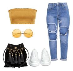 """Look 12"" by mywbright on Polyvore featuring moda, Robert Clergerie e Miu Miu"