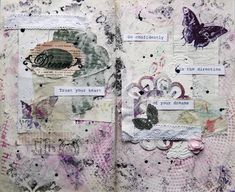 Art journalling = gorgeous !!!