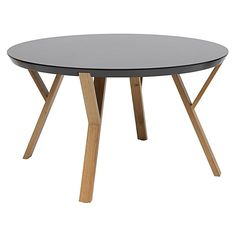 Pinpoint geometric style in the centre of your living room with the Mia Coffee Table, Black from Zanui.