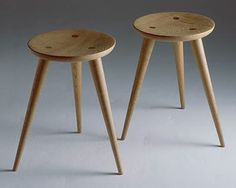 Furniture: X Stool from Koizumi Studio - Remodelista Furniture Making, Wood Furniture, Furniture Design, Vintage Furniture, Cafe Chairs And Tables, Desk Chairs, Side Chairs, Beach Chair With Canopy, Composite Adirondack Chairs