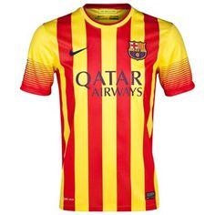 Camiseta del Barcelona Lejos 2013-14 para más de 150 € ahorro 15% http://www.camisetasdefutbolbaratasdhl.es/camiseta-del-barcelona-lejos-201314-p-94.html