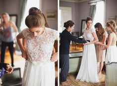 Our Wedding, Dream Wedding, Beautiful White Dresses, Love And Marriage, Bliss, Flower Girl Dresses, Bridal, Wedding Dresses, Lace