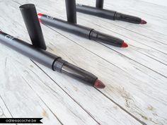 Scarlet Night (#82476) - Rowdy Rouge (#82474) & Mulberry Maven (#82475) http://www.eyeslipsface.fr/produit-beaute/crayon-jumbo-a-levres