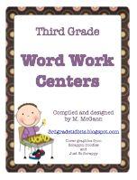 Third/Fourth Grade Tidbits: Daily 5 - Word Work