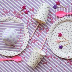kit anniversaire violet - mylittleday.fr kit violet