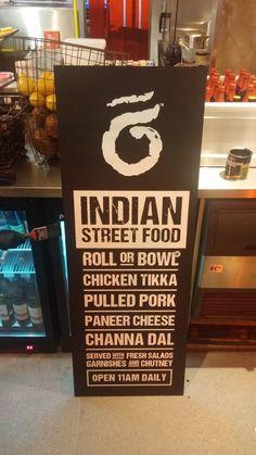 Signage for Rola Wala