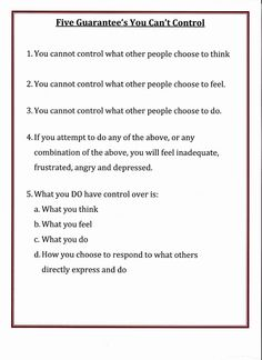 TEACH this to your KIDS Lorinda-Character Education: Five Guarantee's You Can't Control