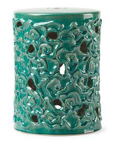 Ordinaire Floral+Ceramic+Garden+Stool Ceramic Garden Stools, Home Decor Furniture,  Accent
