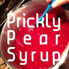 Prickly Pear Syrup Pear Jelly Recipes, Fig Recipes, Canning Recipes, Canning 101, Prickly Pear Syrup Recipe, Prickly Pear Recipes, Prickly Pear Jelly, Prickly Pear Margarita, Cactus Recipe