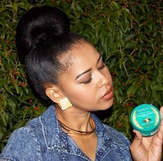 Ditch the Edge Control and Relax Your Edges or Nah?  Read the article here - http://www.blackhairinformation.com/general-articles/tips/ditch-edge-control-relax-edges-nah/