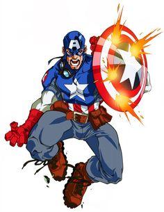 Ultimate Captain America by diablo2003.deviantart.com on @deviantART