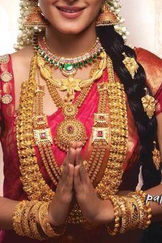 Au Wedding Sarees, Bridal Lehenga, Bridal Jewellery, Wedding Jewelry, Bridal Makeover, Indian Bridal Wear, South Indian Bride, India Jewelry, Wedding Looks