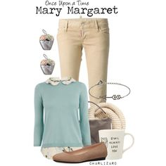 Mary Margaret Blanchard by charlizard on Polyvore featuring polyvore, fashion, style, Oasis, Dsquared2, Tod's, MARC BY MARC JACOBS, BaubleBar, H&M, onceuponatime, ouat, snowwhite and TV