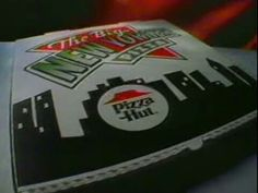 [Pizza Hut's Big New Yorker. Boy do I miss this one -- had one every Saturday night. Piza Hut, Fast Food Places, Saturday Night, Childhood Memories, Pizza, Big, Collection, Childhood
