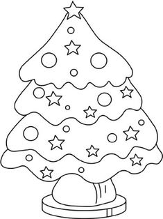 Welcome in Christmas Coloring Pages site. In this site you will find a lot of Christmas Coloring Pages in many kind of pictures. Christmas Tree Printable, Christmas Tree Template, Christmas Trees For Kids, Colorful Christmas Tree, Free Christmas Printables, Christmas Colors, Christmas Crafts, Green Christmas, Coloring Pages To Print