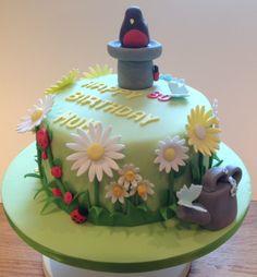 1000 Images About Men 39 S Cake Ideas On Pinterest Garden Birthday Cake