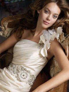 Lazaro Bridal Gowns, Wedding Dresses Style by JLM Couture, Inc. Wedding Dresses Photos, Wedding Dress Trends, Wedding Dress Styles, Bridal Dresses, Wedding Ideas, Wedding Stuff, Dream Wedding, Wedding Things, Lazaro Wedding Dress