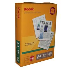 Price Rs.1,417/-Buy Kodak Universal Copier A4 80 GSM Box of 5 Reams in Online India