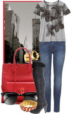 """""""Summer in The City"""" by ssquared on Polyvore"""