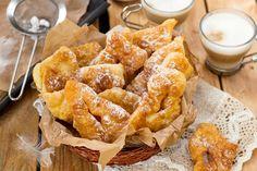Beignets vosgiens (de carnaval) Beignets, Mardi Gras, Pain, Chicken Wings, Pancakes, France, Meat, Ethnic Recipes, Food