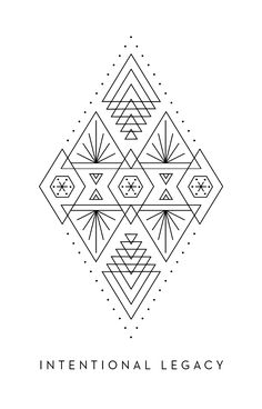 Intentional Legacy - Inner Star Oracle Deck - The Darling Tree Tribal Pattern Art, Bohemian Pattern, Geometry Art, Sacred Geometry, You Draw, How To Draw Hands, Tarot, Nouveau Tattoo, Oracle Deck