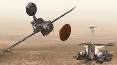 Mars Searching for Life  In order to Explore Mars, ExoMars program is established lead the exploration missions toward Mars,  Trace Gas Orbiter and Schiaparelli, both accomplished the mission at Mars in October 2016. Schiaparelli failed during landing, but TGO made it. #space #TGO #Mars #Mars Mission #Mars Planet #Red Planet